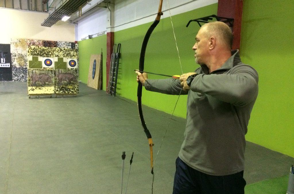 Обучение стрельбе из лука в тире «Калибри»